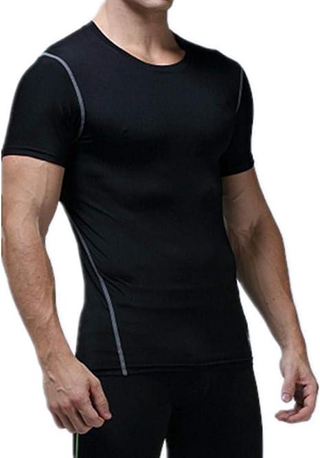 Base Layers Compression Top Short Sleeve Shirt, medias deportivas ...