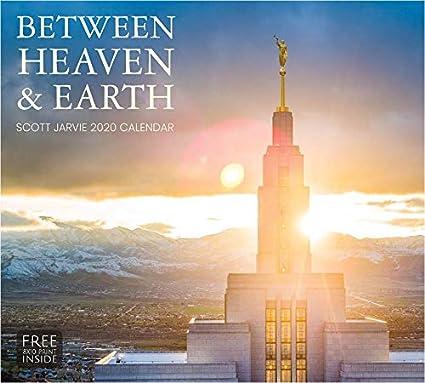 Calendario de pared 2020, Scott Jarvie, entre el cielo y la tierra ...