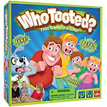 Goliath Games Who Tooted? The, um, Fart Board Game for The Whole Family