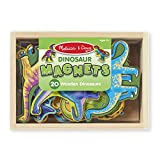 Melissa & Doug Magnetic Wooden Dinosaurs in a Box