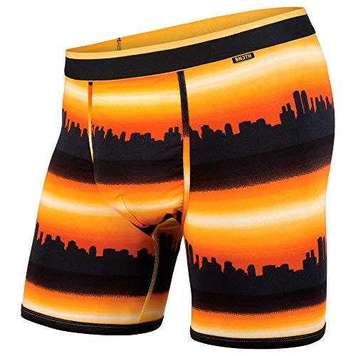 BN3TH Classics Boxer Brief Base Layer Underwear, XX-Large, City Horizon