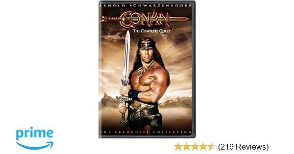 Amazon com: Conan - The Complete Quest: Arnold