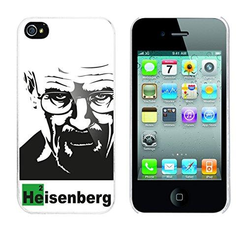 Iphone 4 / 4S Schutzhülle Bad Walter v7 - weisser Rahmen