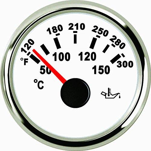 ELING Oil Temp Gauge Meter 50-150℃ With Backlight 52mm 9-32V by ELING