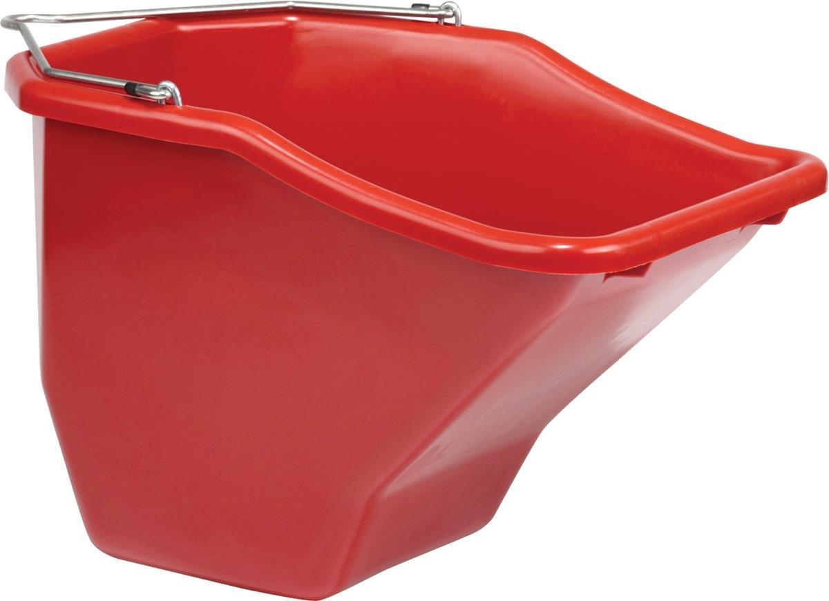 LITTLE GIANT Plastic Better Bucket, 20-Quart, Red