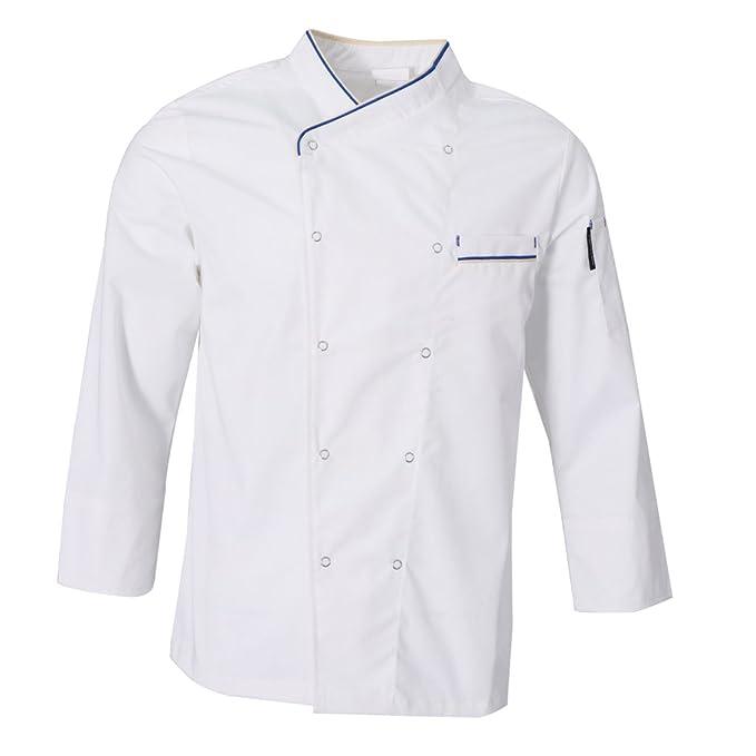 Baoblaze Giacche Da Chef Cuoco Uniforme Abbigliamento Lavoro Ristorazione   Amazon.it  Abbigliamento d019a96f0eb5