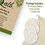 Qalb-16 Reusable Makeup Remover Pads, Facial