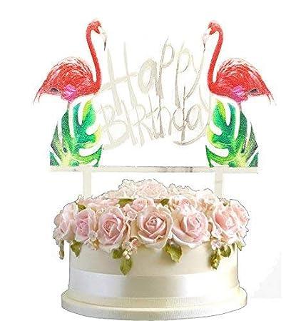 Polka Dot Sky Flamant Rose 3d Art Or Argent Blanc Fete Joyeux