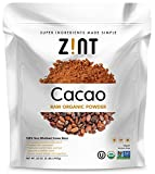 Zint Organic Cacao Powder (32 oz): Raw Non-Alkalized Chocolate With Powerful Antioxidants and Resveratrol