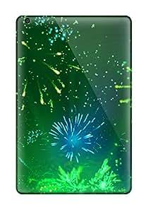 monica i. richardson's Shop New Cute Funny Green Fireworks 2 Case Cover/ Ipad Mini 2 Case Cover 6939784J62519632
