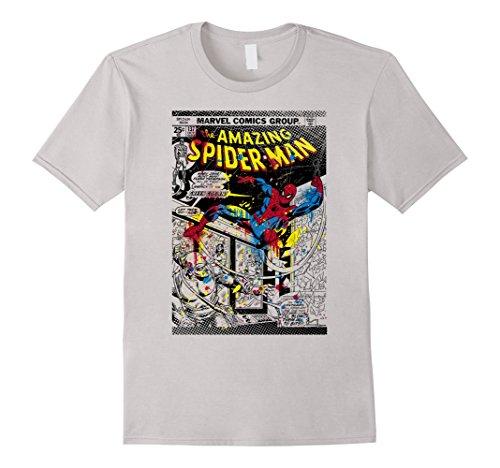 Marvel+Comics+Retro+Shirt Products : Marvel Spider-Man Classic Retro Paint Splat Comic T-Shirt