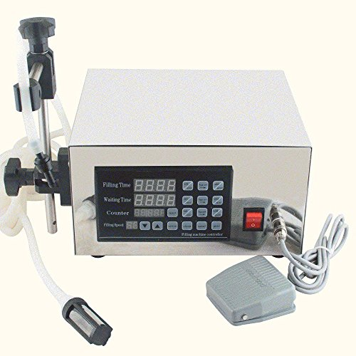 Finlon Automatic Digital Liquid Filling Machine Filler 5~3500ml (Only SHIP TO USA)Microcomputer Control Automatic Bottle Filler for Cream Shampoo Cosmetic Bottler Filler by Finlon