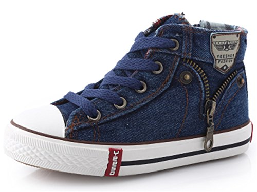 ppxid-boys-girls-high-top-canvas-lace-up-casual-board-shoes-dark-blue-11-us-size