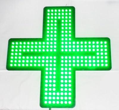 420 Green Cross Medical Cannabis Marijuana Pharmacy LED Light Shop Sign (with Wireless remote control)