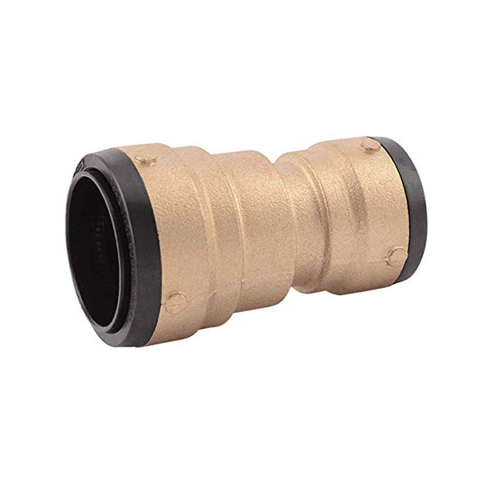 SharkBite UXL015441 Reducer Coupling 2 Inch x 1 1/2 Inch, Push-to-Connect, PEX, Copper, CPVC