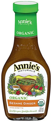 Ginger Vinaigrette (Annie's Naturals Organic Dressing Sesame Ginger Vinaigrette -- 8 fl oz - 2)