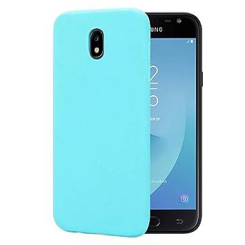 CoqueCase Funda para Samsung Galaxy J7 2017 Silicona Suave ...