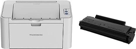 Thomson TH-2500 - Impresora láser Monocromo (23 ppm, Wi-Fi/USB ...