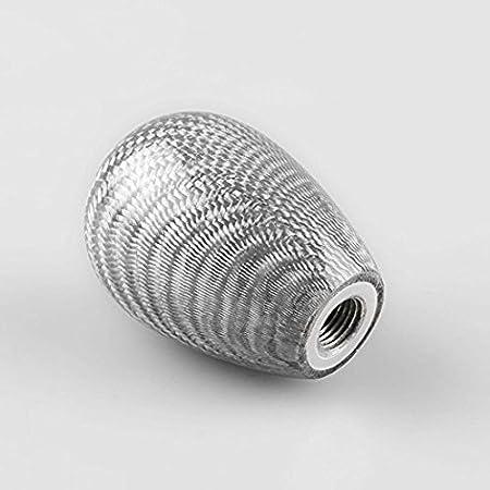 Zantec Forme ovale en fibre de carbone de voiture universel Levier Shifter Levier T/ête