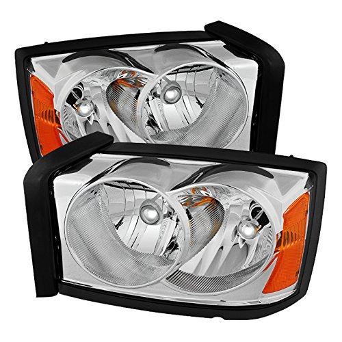 Xtune HD-JH-DDAK05-AM-C Dodge Dakota Headlight