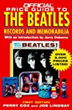 The Official Price Guide to the Beatles, Perry Cox and Joe Lindsay, 0876379404