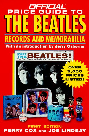 Official Price Guide to the Beatles (Serial) by House of Collectibles