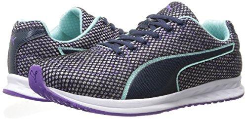 PUMA Women's Burst TECH WN's Cross-Trainer Shoe, Royal Purple-Aruba Blue-Peacoat, 9 M US by PUMA (Image #6)