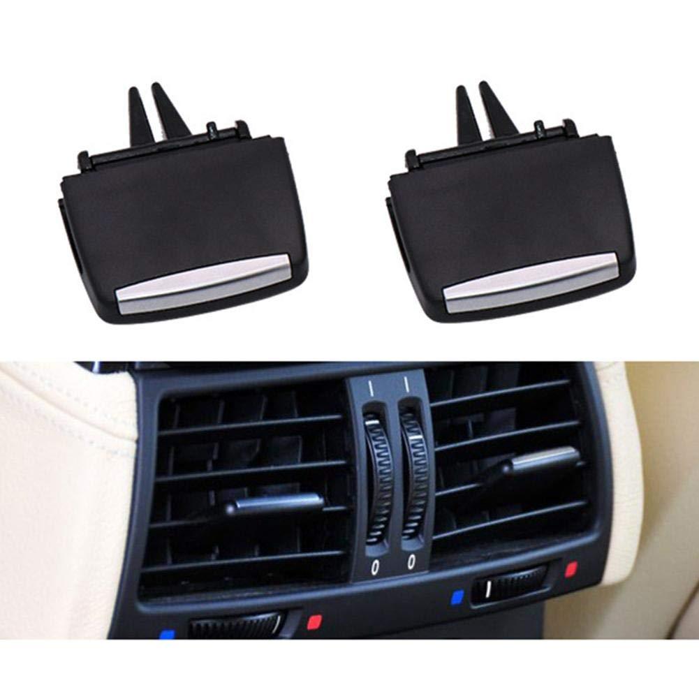 iBaste/_top Clip Auto Clips Luftaustritt L/üftungsgitter Blatt Entl/üftungszungen Kompatibel f/ür BMW X5 X6 E70 E71 Luftaustrittsd/üsen