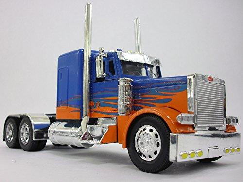 Cab Truck Diecast Metal 1/32 Scale Model - BLUE (Peterbilt Diecast)