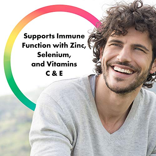 Rainbow Light - Men's One Multivitamin Non-GMO Bonus Size - Plus Superfoods, Probiotics, and Plant-Source Enzymes; Vegetarian and Gluten Free - 180 Tablets by Rainbow Light (Image #4)