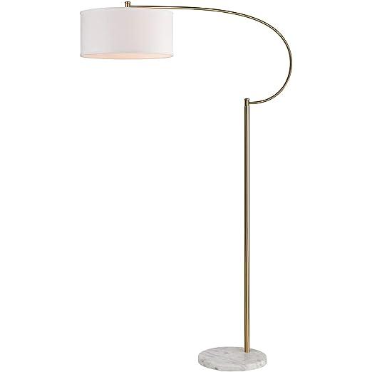 Amazon.com: Lámparas de Suelo 1 Luz Fijaciones con Latón ...