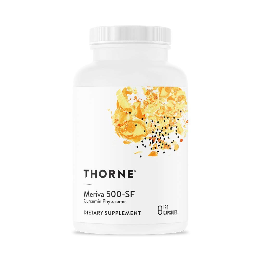 Thorne Research - Meriva 500-SF (Soy Free) - Curcumin Phytosome Supplement - 120 Capsules by Thorne Research