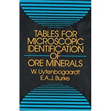 Table for Microscopic Identification of Ore Minerals