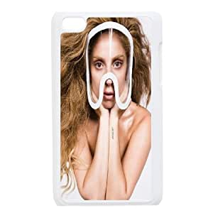 High Quality -ChenDong PHONE CASE- FOR IPod Touch 4th -Famous Star Lady Gaga Wallpaper-UNIQUE-DESIGH 16