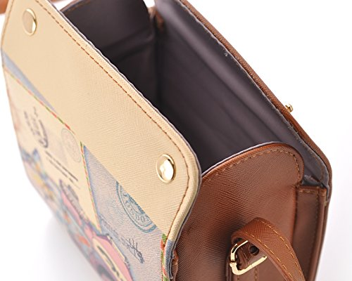 DSstyles PU 7S Fuji Cameras 25 Mini Instax Fujifilm Brown Mini Shoulder 50S Mini Retro Bag 8 for Mini Case Camera Leather gBqg57rw