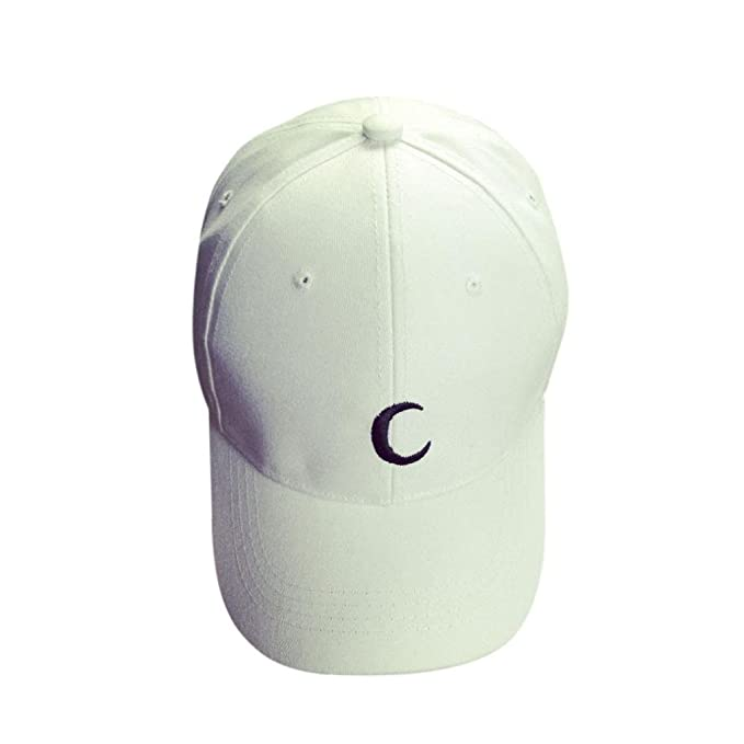 Xinantime Sombrero, Ajustable Adolescentes Gorras de Béisbol Sombreros Plano Hip Hop (Blanco): Amazon.es: Deportes y aire libre
