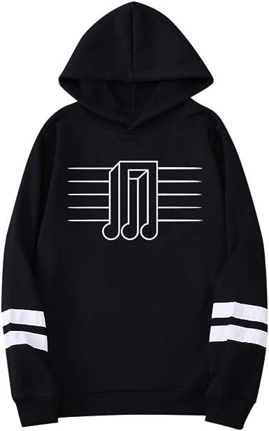 Abeaicoc Men Casual Top Printed Hoodies Long Sleeve Oblique Zipper Hooded Sweatshirt