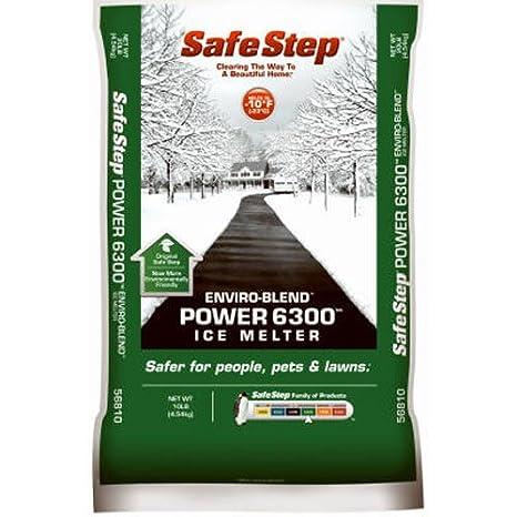 North American Salt 56810 Power 6300 Enviro Blend Ice Melter, 10-Pound Safesale