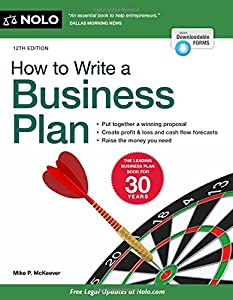How to Write a Business Plan from NOLO