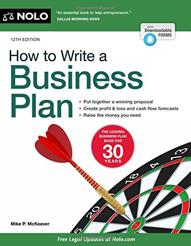 How to Write a Business Plan by NOLO