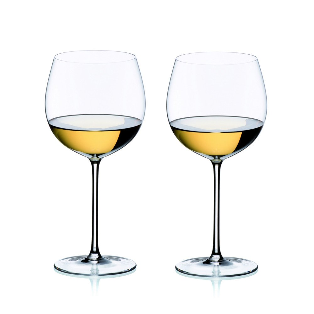 Riedel Sommeliers Leaded Crystal Montrachet/Chardonnay Wine Glass, Set of 2 by Riedel