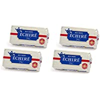 French Butter Unsalted Echire - 4 bars x 8.8 oz