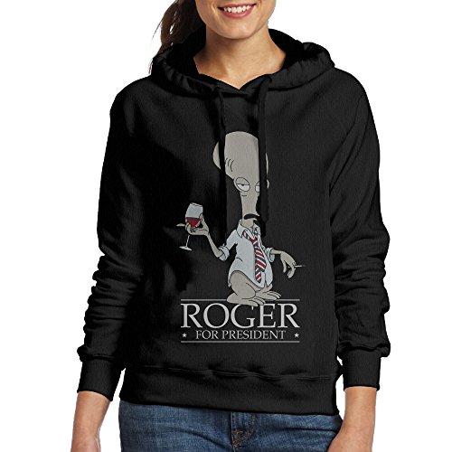 Hane Sea Women's American Dad Roger Classic Cotton Long Sleeve Hoodie Sweatshirt price tips cheap