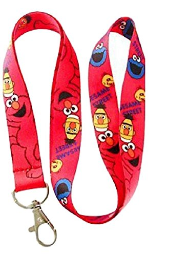 Cookie Monster & Elmo Characters ID Holder LANYARD -