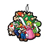 JUST FUNKY Super Mario Bros. OFFICIAL Classic Air Freshener - New Car Scent