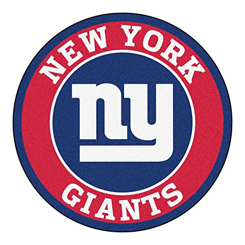(FANMATS 17968 NFL New York Giants Roundel Mat)