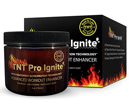TNT Pro Ignite Stomach Fat Burner Body Slimming Cream With HEAT Sweat Technology - Thermogenic Weight Loss Workout Enhancer (Cream To Reduce Fat compare prices)