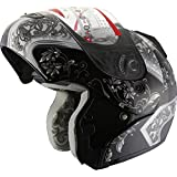 Snowmobile Helmet Modular Flip up Anti Fog 304_138 Black (S)