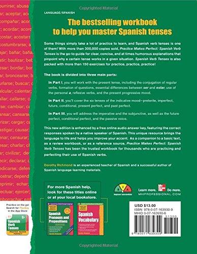 Practice Makes Perfect Spanish Verb Tenses, Second Edition (Practice Makes Perfect Series)