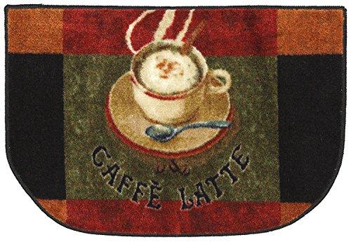 Superb Mohawk Home New Wave Caffe Latte Primary Printed Rug, 1u00276x2u00276 Slice, Brown